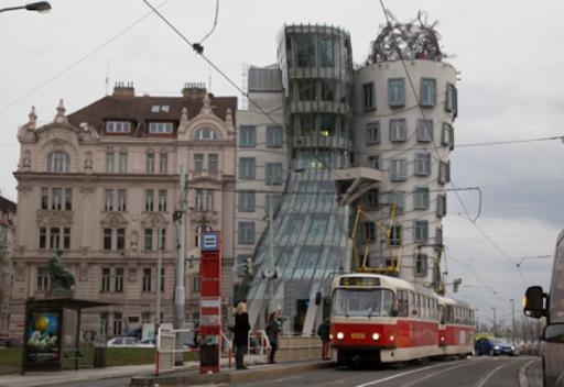 Het dansende huis – Tsjechië