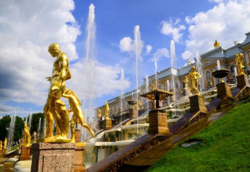 Paleizencomplex in Peterhof – Rusland
