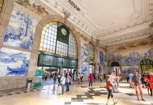 Trein Station Porto – Portugal